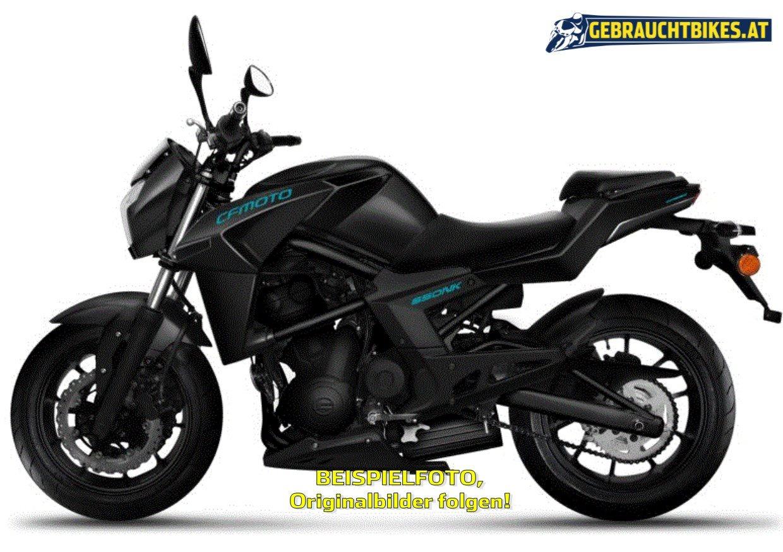 CF-Moto 650 NK Motorrad, gebraucht