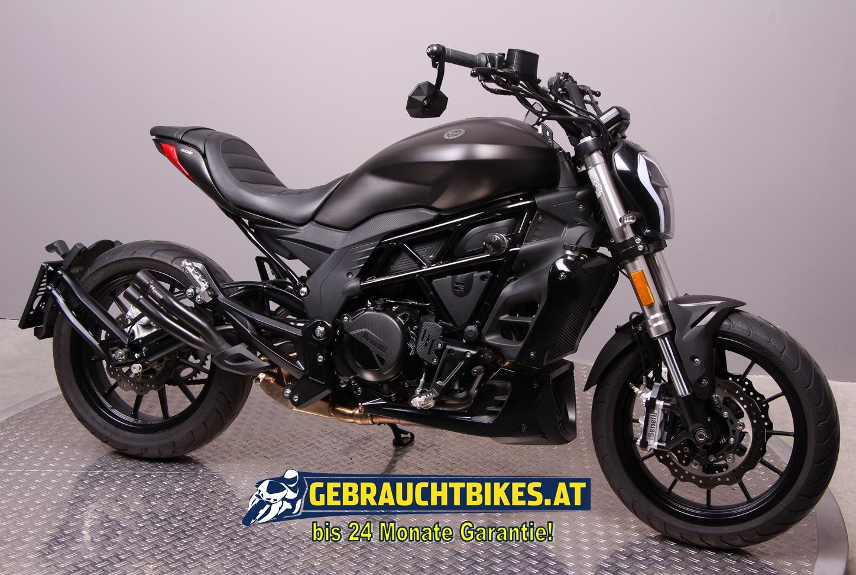 Benelli 502 C Motorrad, gebraucht