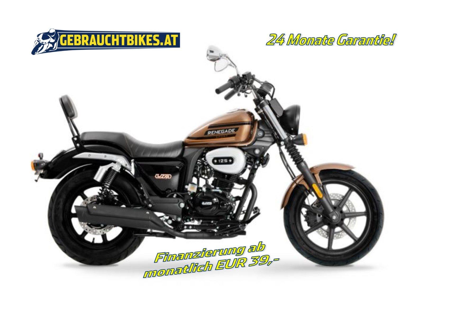 United Motors UM Renegade Sport 125 Motorrad, neu