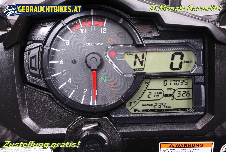 Suzuki V-Strom 1000 Motorrad, gebraucht