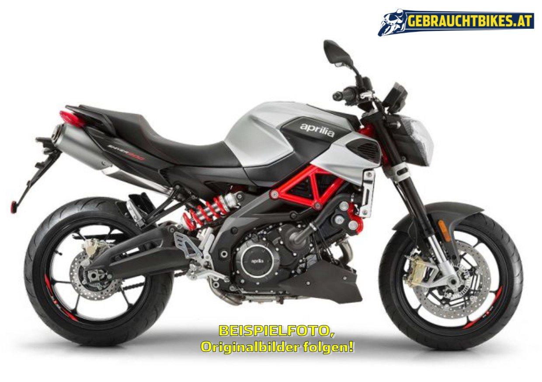 Aprilia Shiver 900 Motorrad, gebraucht