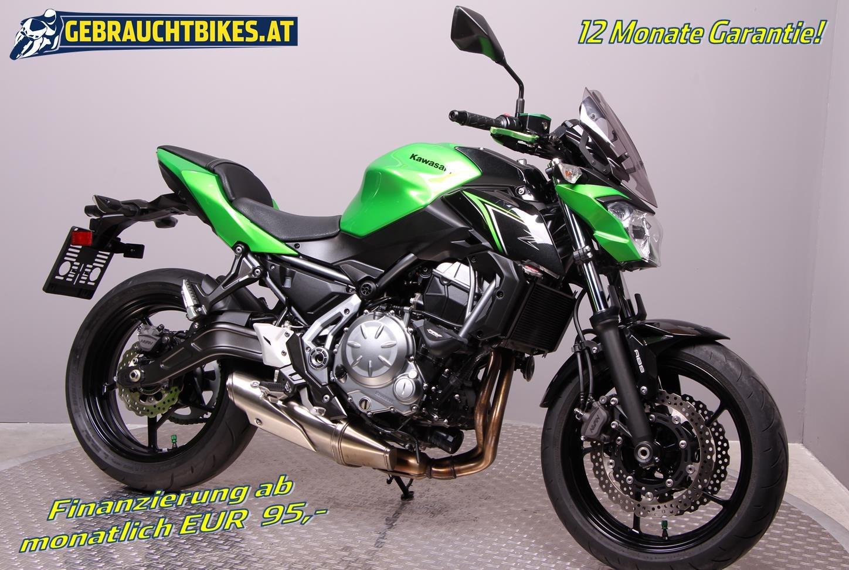 Kawasaki Z 650 Motorrad, gebraucht