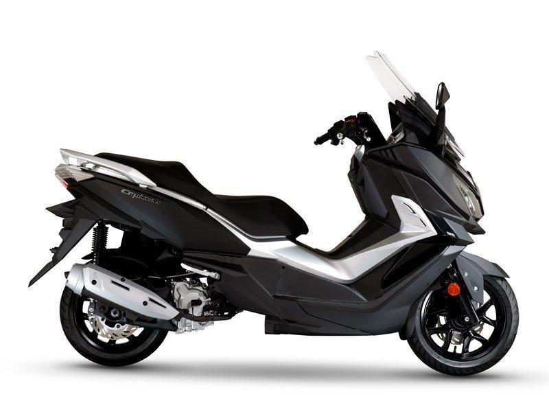 Sym Cruisym 125 Motorrad, neu