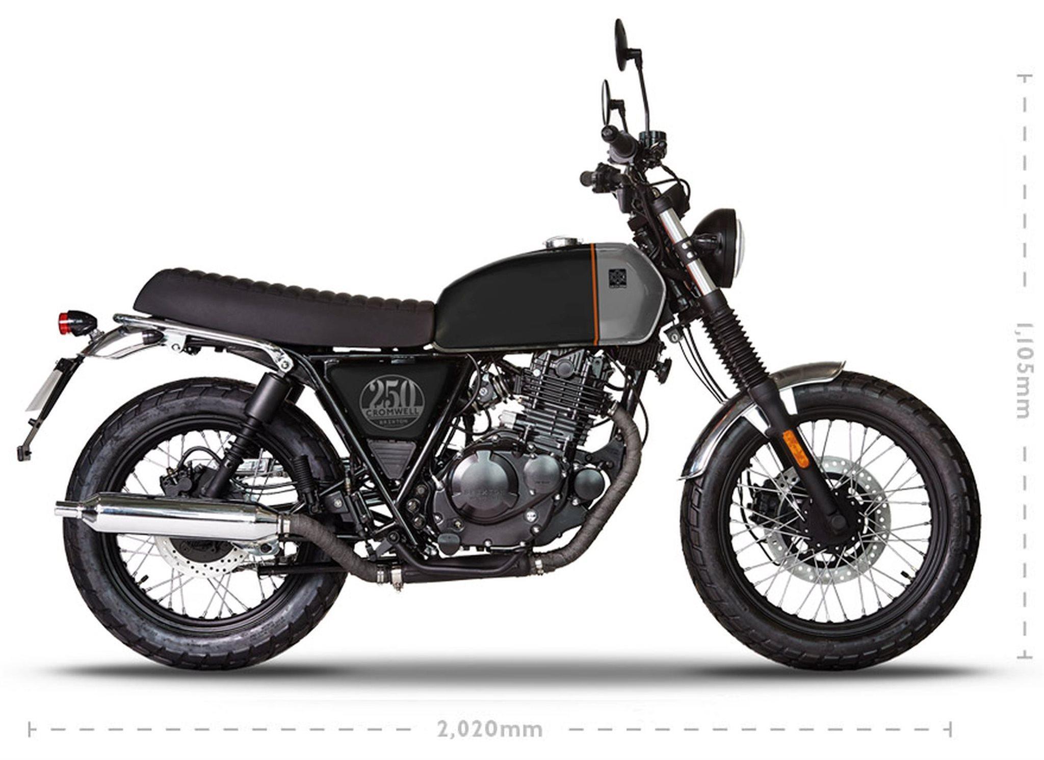 Brixton Cromwell 250 Motorrad, neu