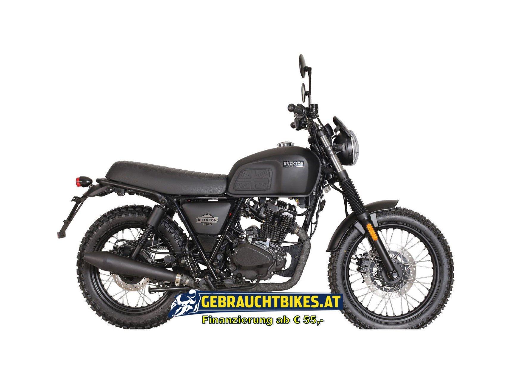 Brixton Felsberg 125 XC Motorrad, neu
