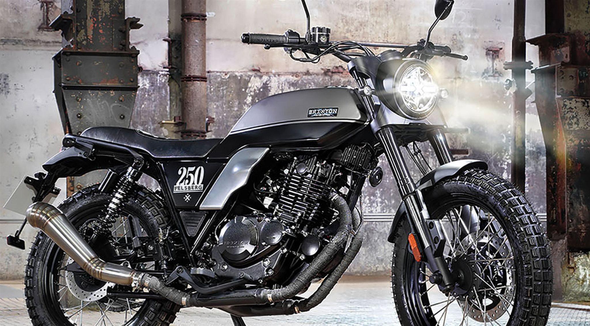 Brixton Felsberg 250 Motorrad, neu
