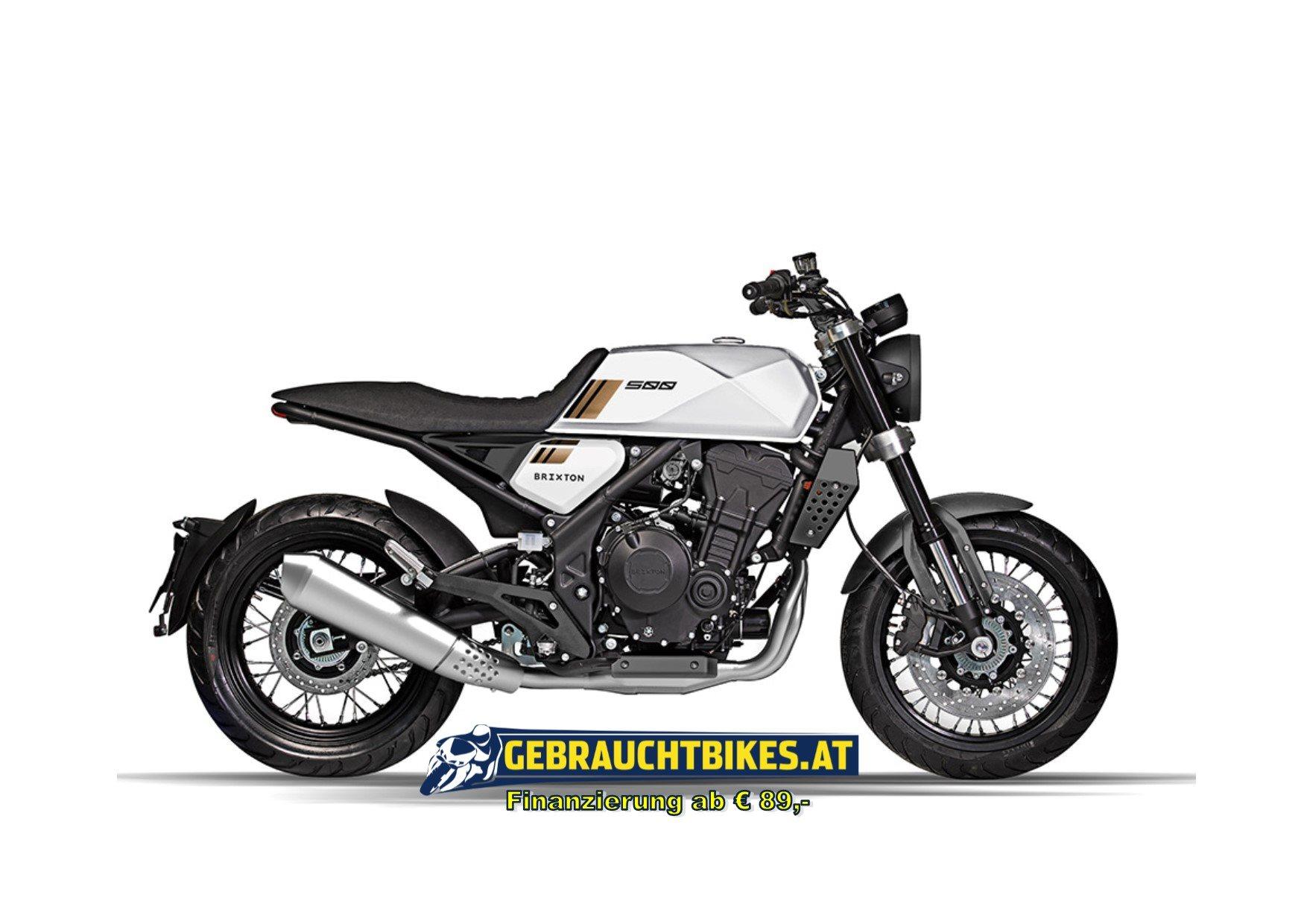 Brixton Crossfire 500 Motorrad, neu