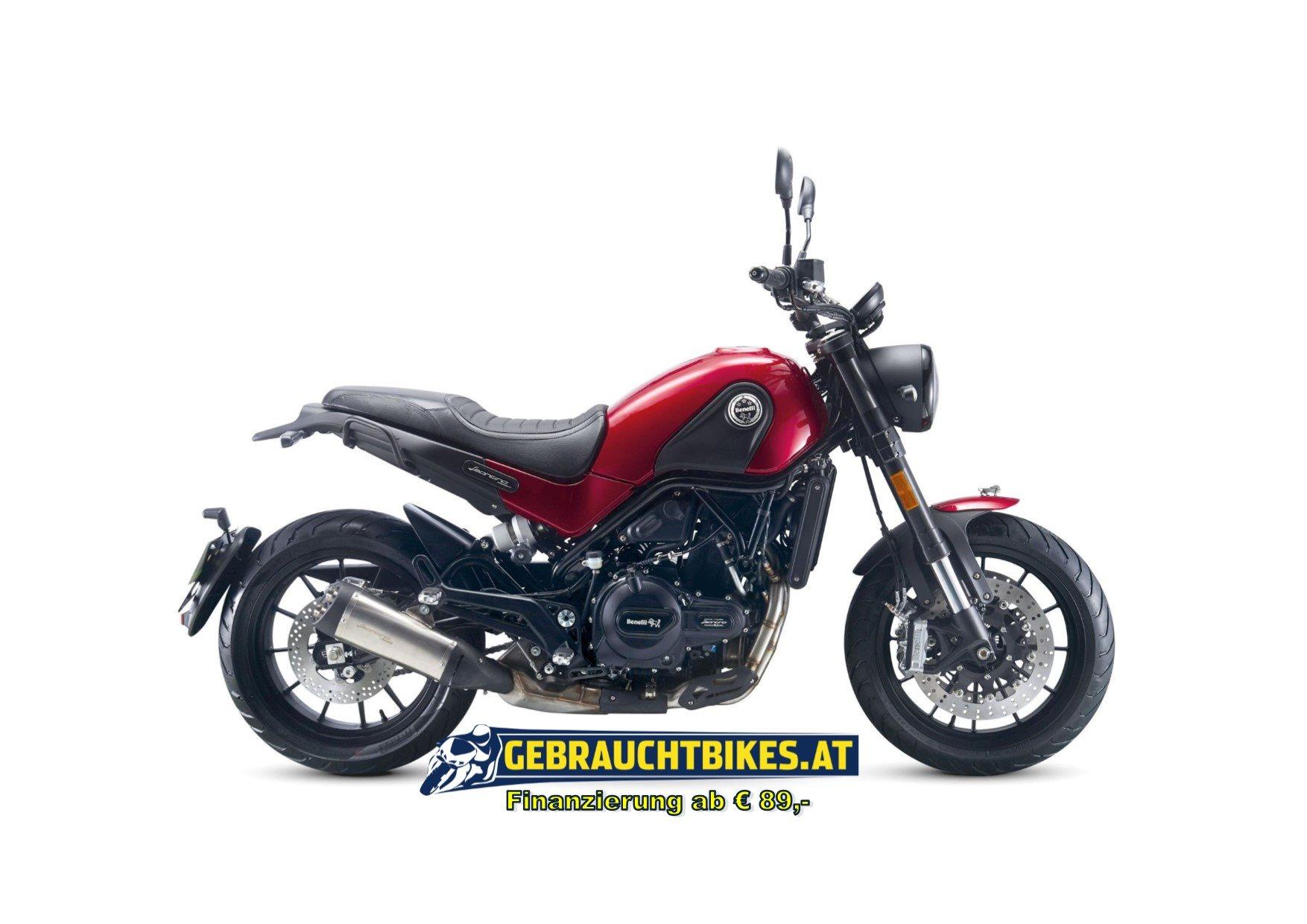 Benelli Leoncino 500 Motorrad, neu