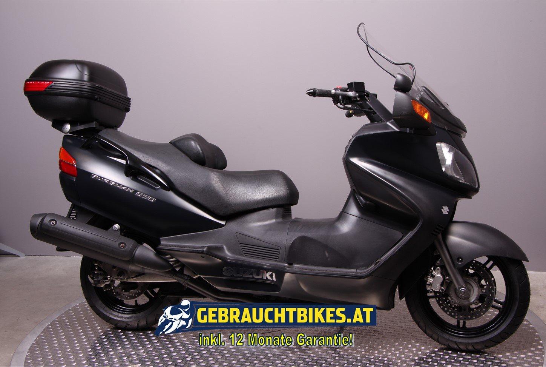 Suzuki Burgman 650 Motorrad, gebraucht