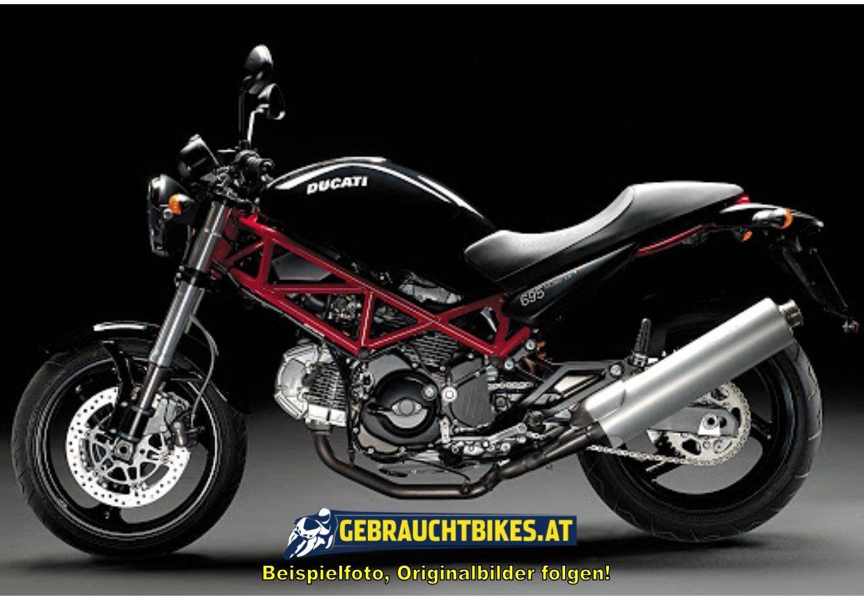 Ducati Monster 695 Motorrad, gebraucht