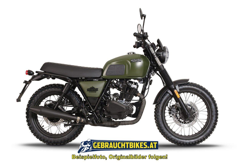 Brixton Felsberg 125 Motorrad, gebraucht