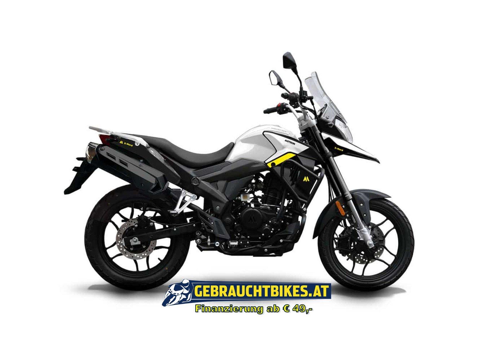 Motron X-Nord 125 Motorrad, neu