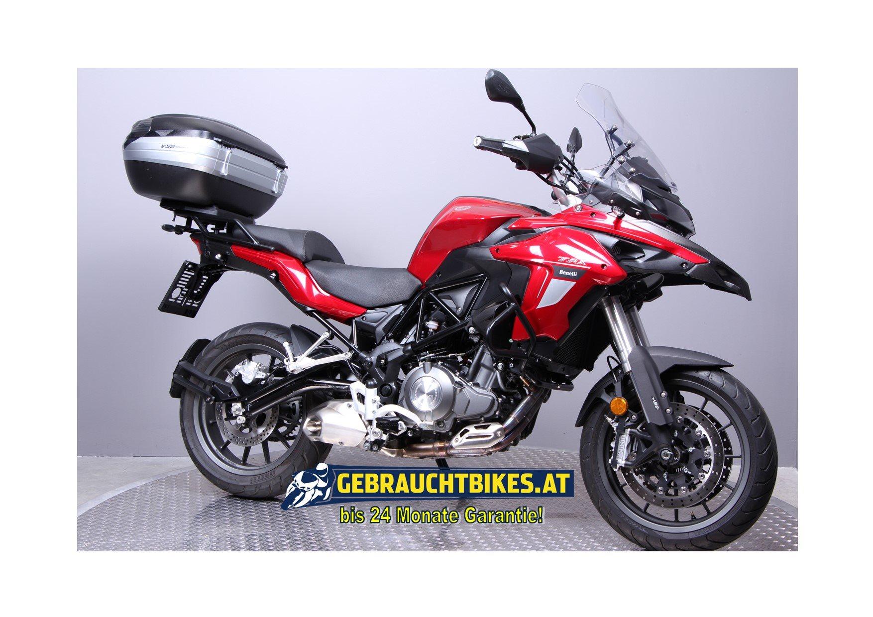 Benelli TRK 502 Motorrad, gebraucht