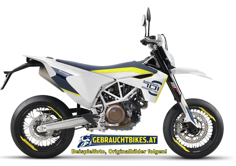 Husqvarna 701 Supermoto Motorrad, gebraucht