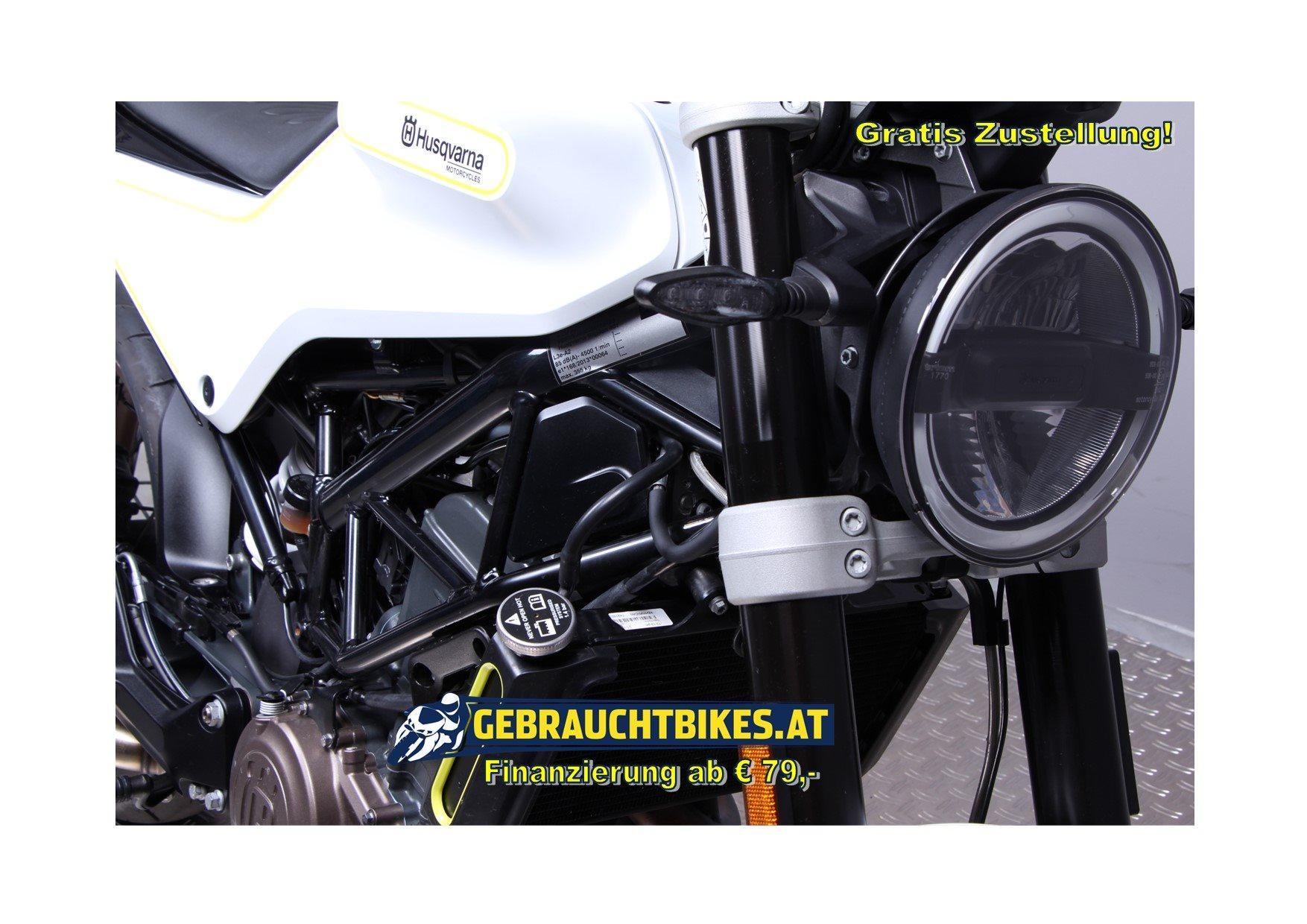 Husqvarna Vitpilen 401 Motorrad, gebraucht