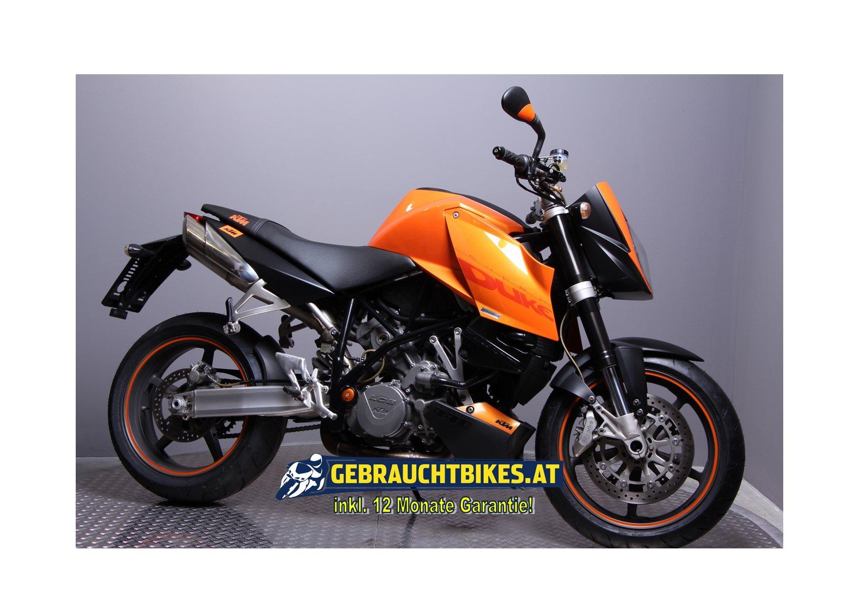 KTM 990 Super Duke Motorrad, gebraucht