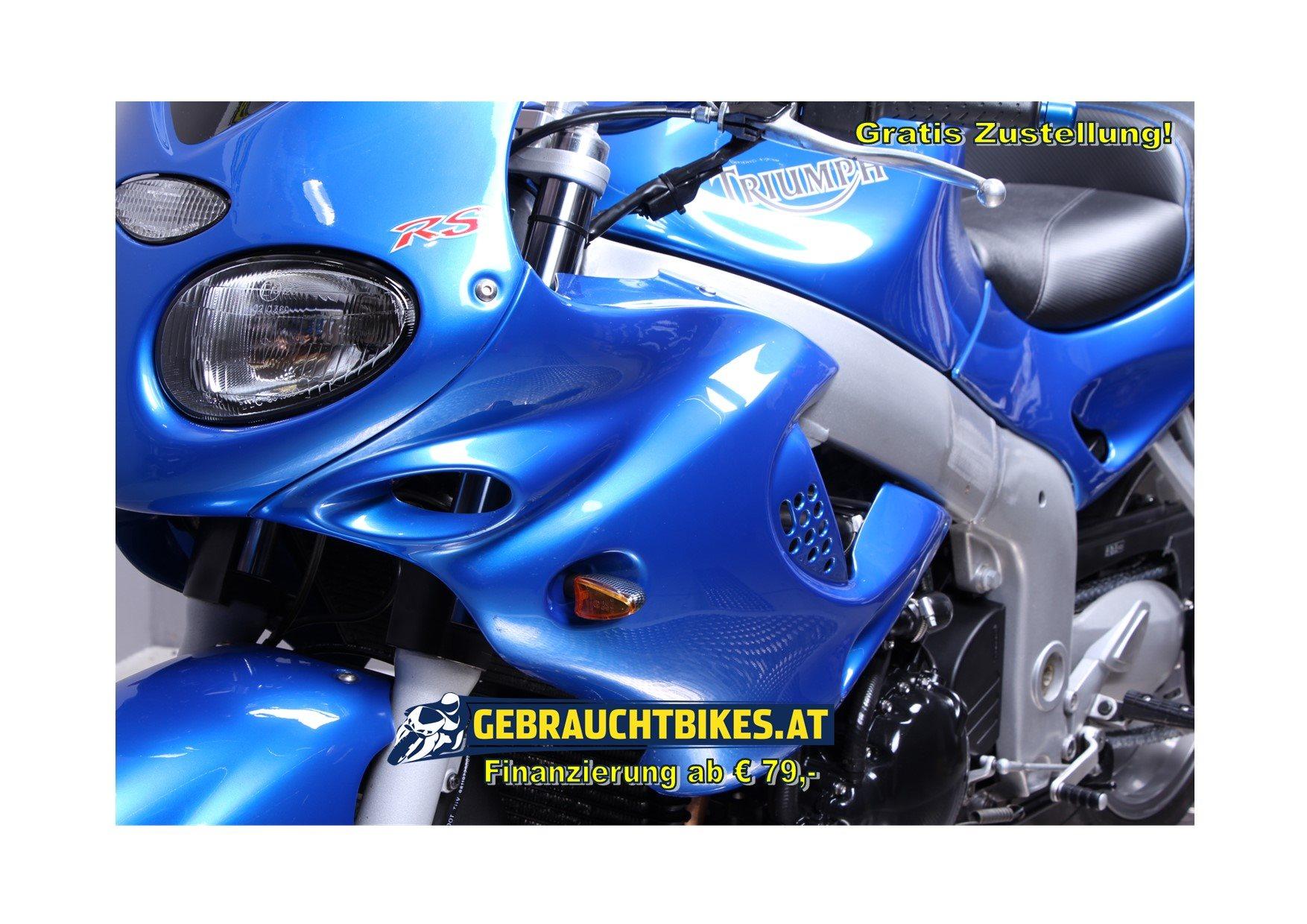 Triumph Sprint RS Motorrad, gebraucht