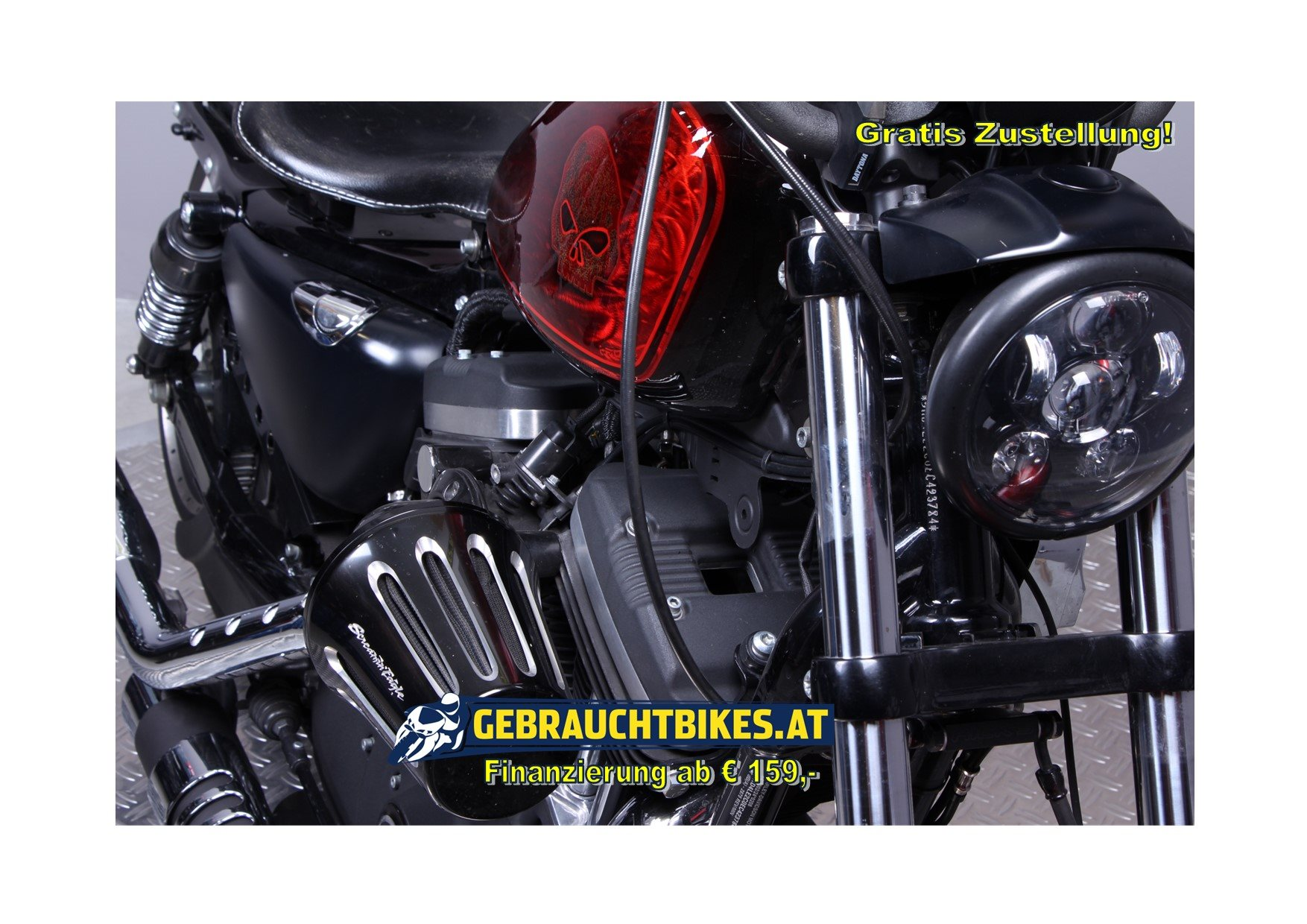Harley-Davidson Sportster XL 883 Classic Motorrad, gebraucht