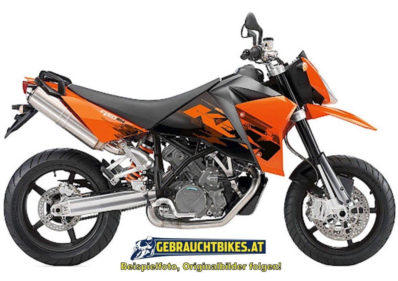 KTM 950 Supermoto Motorrad, gebraucht