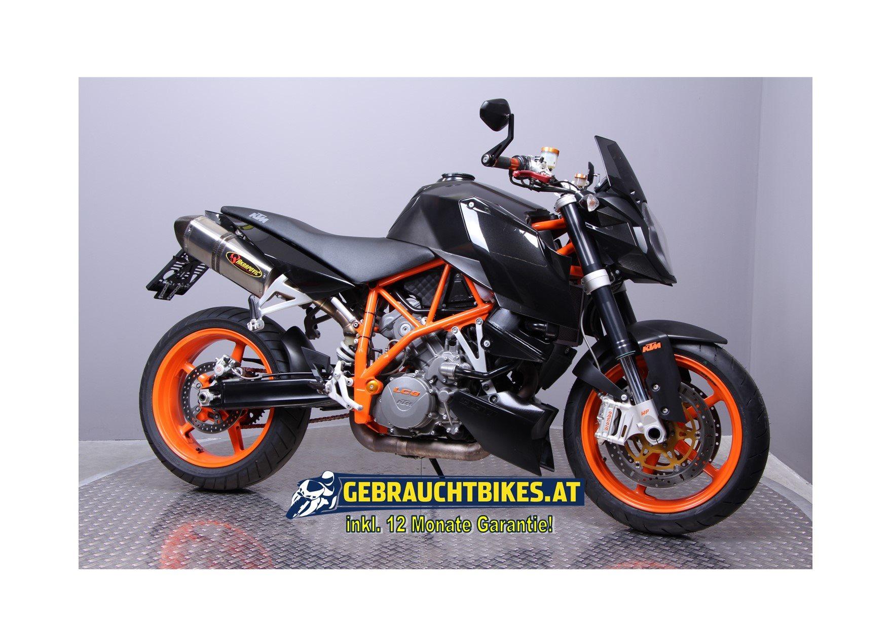 KTM 990 Super Duke R Motorrad, gebraucht
