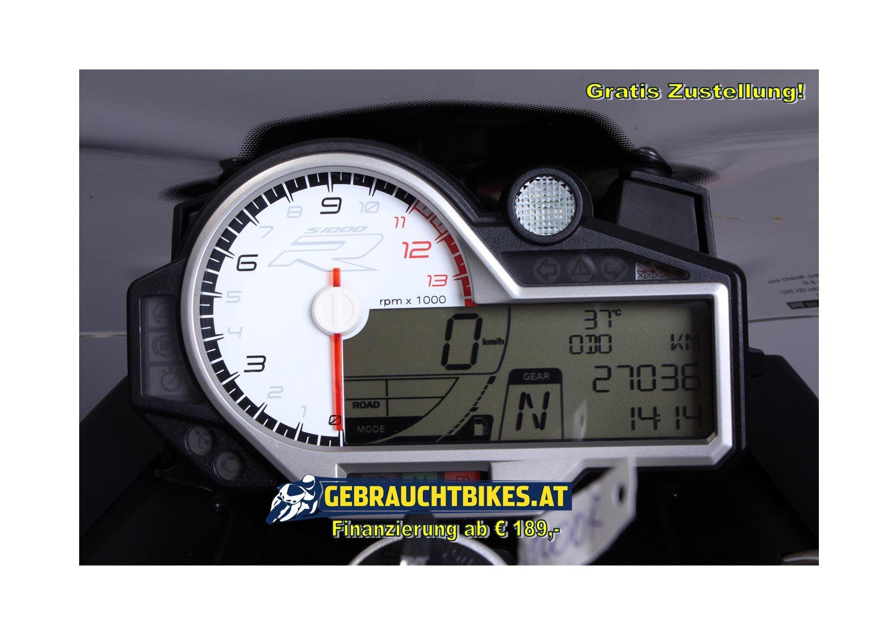 BMW S 1000 R Motorrad, gebraucht