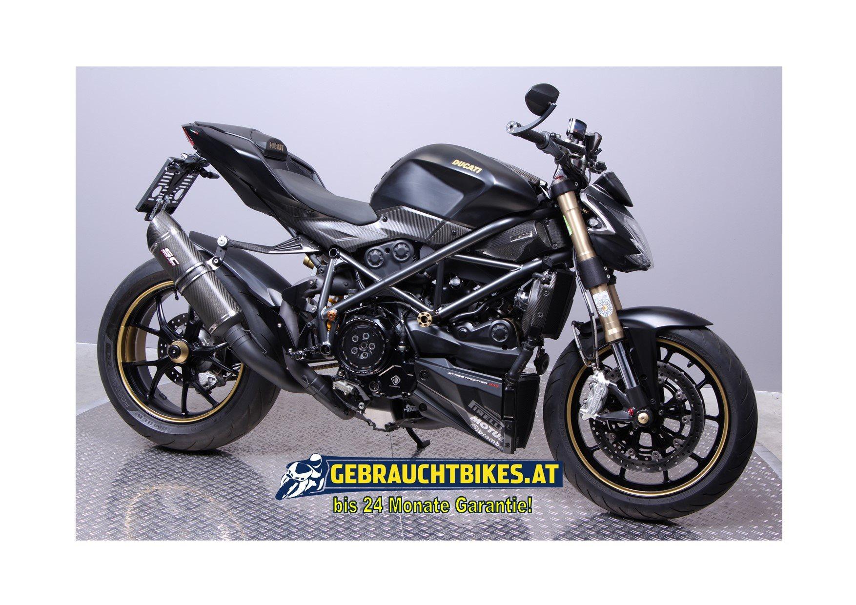 Ducati Streetfighter 848 Motorrad, gebraucht