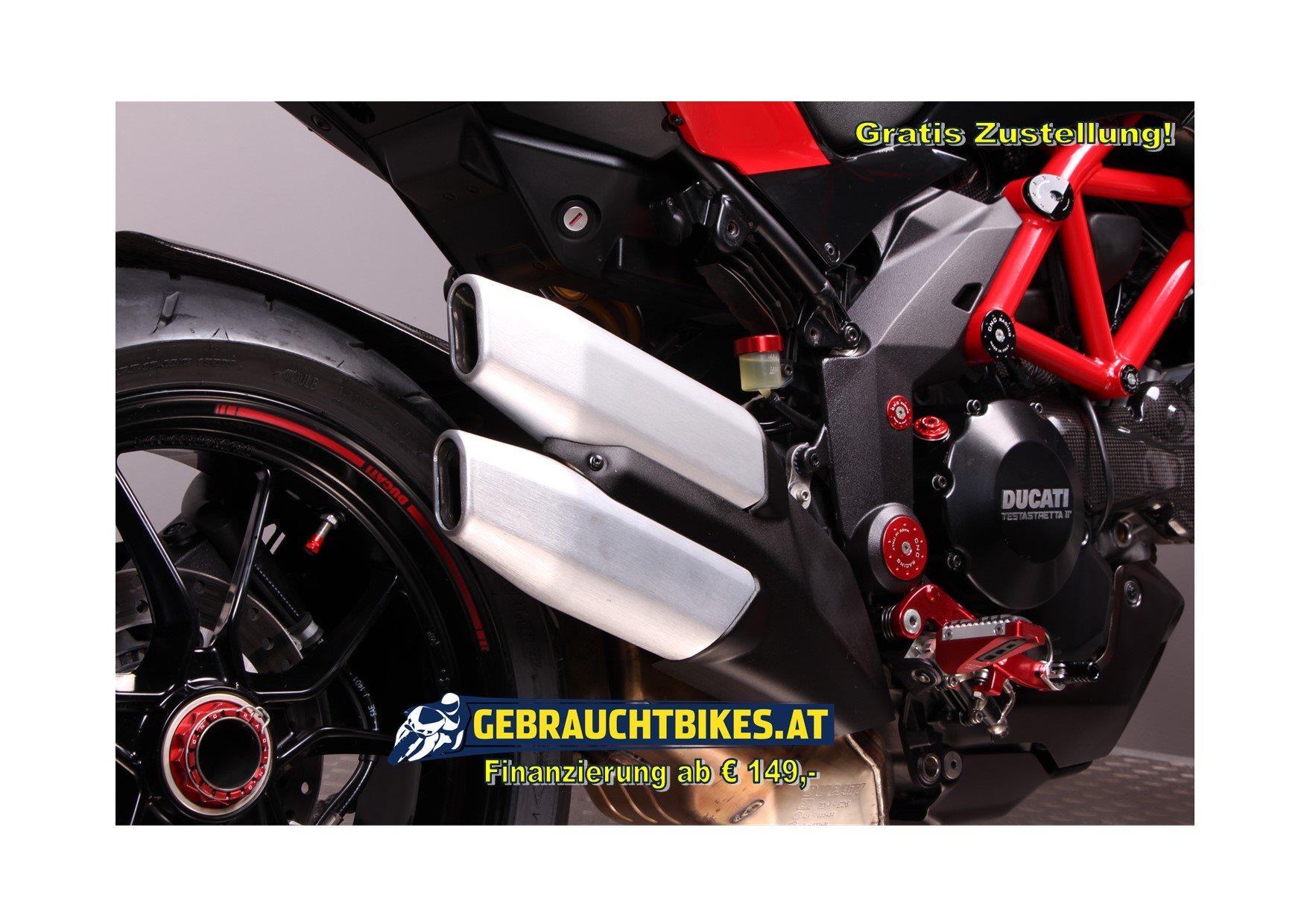 Ducati Multistrada 1200 Pikes Peak Motorrad, gebraucht