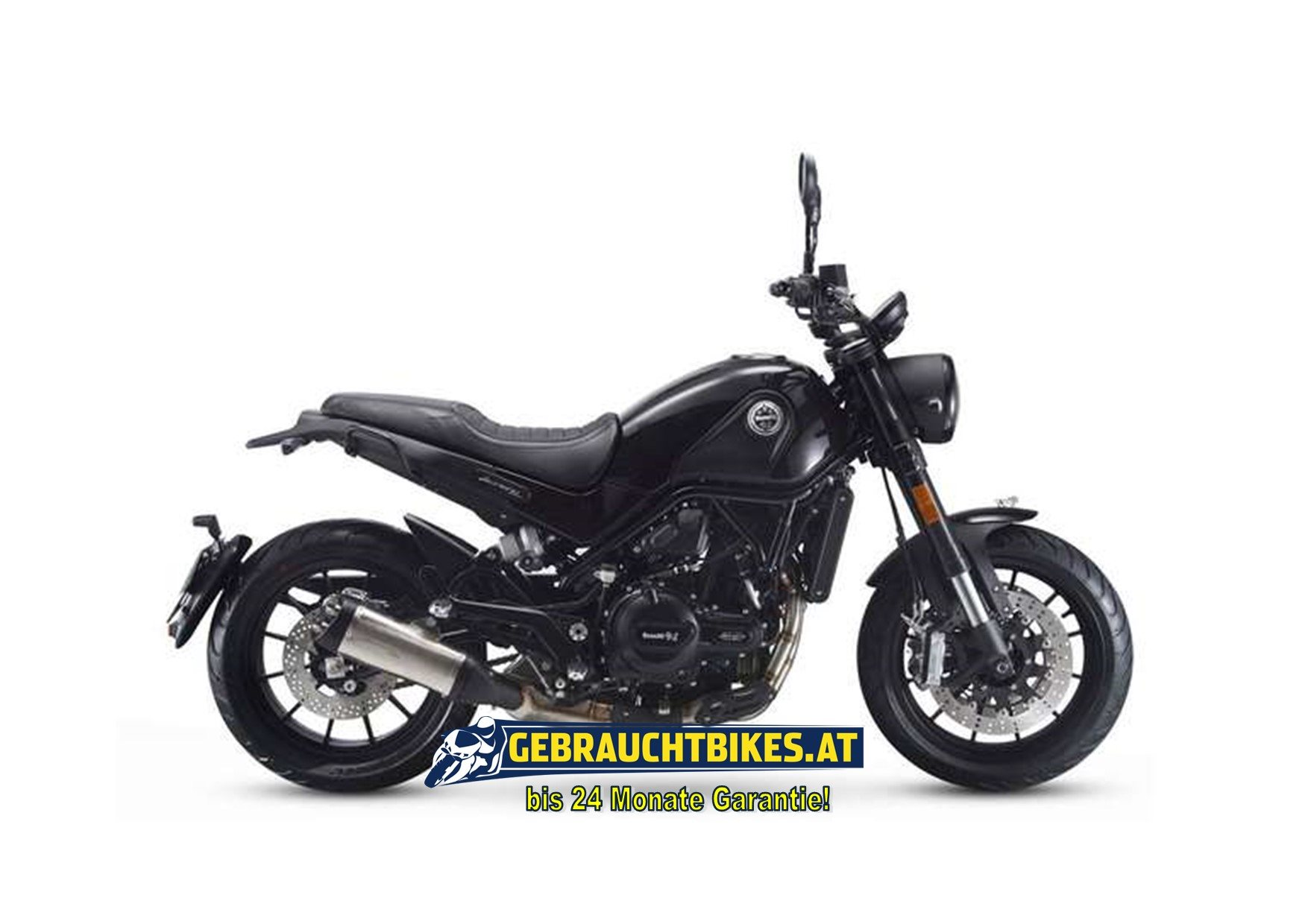 Benelli Leoncino 500 Motorrad, gebraucht